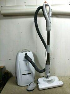 Kenmore 116 Progressive HEPA Canister Vacuum White, All Floors 12 Amp Power Head