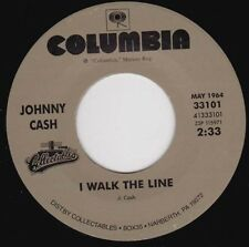 "JOHNNY CASH - I Walk The Line 7"""