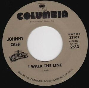 JOHNNY CASH - I Walk The Line 7""