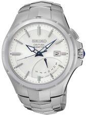 SEIKO Coutura Kinetic Men's Bracelet Quartz Watch 5M84-0AF0 10ATM 43mm