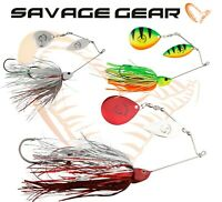 Savage Gear Spinnerbait Da'BUSH Lure Fishing Predator Double Blade Bait Pike