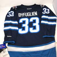 NWT Reebok NHL Jersey Winnipeg Jets Dustin Byfuglien Kids Youth Size L/XL