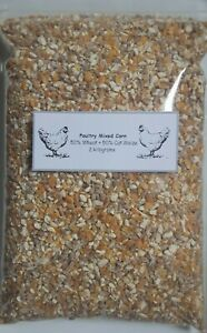 MIXED CORN WHEAT MAIZE CHICKEN BANTAM TURKEY DUCK GOOSE POULTRY FEED