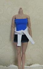 "Jill Valentine Female 1/6 Clothing Sets F 12"" Women HT PH Action Figure Toys"