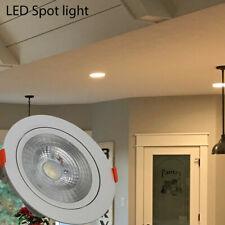 New 3W 5W 7W 9W 12W LED Ceiling Downlights Angle Adjustment Recessed Spotlights
