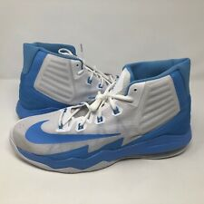 newest 69127 918aa NWOB Nike Mens Air Max Audacity 2016 Blue White Basketball Shoes Sz 16.5