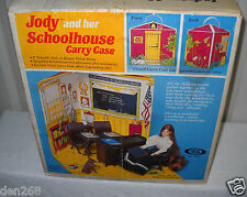 #8877 Ultra Rare Vintage Ideal Jody & her Schoolhouse (See Description)