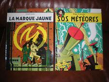 BLAKE ET MORTIMER - LOT DE 2 TOMES PUB ESSO 1998 : MARQUE JAUNE + SOS METEORE