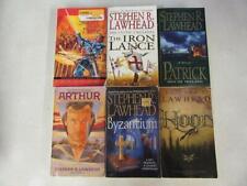 BIG Lot (6) STEPHEN R. LAWHEAD Books Fantasy Books ARTHUR Hood BYZANTIUM Patrick