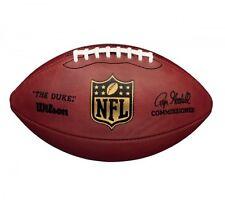 """Wilson American Football """" The Duke """" official Game Ball Leder - Super Bowl, NFL"""