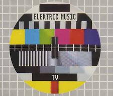 "ELEKTRIC MUSIC - TV - 12"" VINYL 1993 RARE - KARL BARTOS KRAFTWERK"