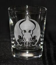 Cthulhu Symbol Custom Etched Shot Glass