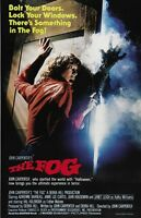 John Carpenter's The Fog movie poster - Jamie Lee Curtis poster 11 x 17 inches