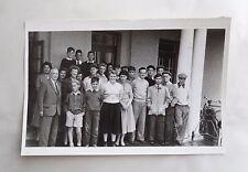 Vintage 1956 B/W Photograph. Cardiff Golf Club. Junior Members. Teenagers, Wales