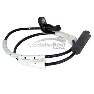 One New MTC ABS Wheel Speed Sensor Front 1760 for BMW