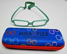 MIRAFLEX FLEXIBLE KIDS EYEGLASSES MOD. NEW BABY 3 COLOR GREEN