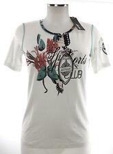 Moya T-Shirt in M 38 Top Viskose weiß neu mit Etikett Shirt