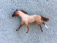 Custom CM Stablemate Running Thoroughbred Jessica Fry Breyer Horse Red Roan G2