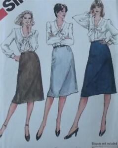 Original Vintage 1982 Skirts Dressmaking Pattern- Simplicity 5788 UNUSED