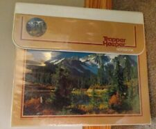 Vintage 80's Mead Trapper Keeper Notebook #29096 Lake,mountains,trees