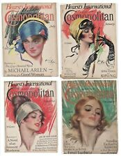 Vintage Cosmopolitan Magazine Cover Only  (39 COVERS ONLY)
