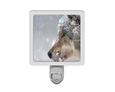 Wolf In the Snow Animal Nature Night Light