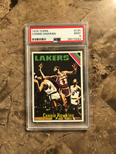1975 Topps Connie Hawkins PSA 9. Mint. MVP. Champion. All-star. HOF. The Hawk!