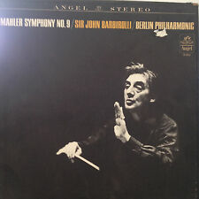 Mahler Symphony #9 Barbirolli Berlin Phil Angel Box Set SB 3652