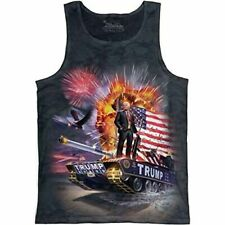 The Mountain 100% Cotton Adult Tank Top Epic Trump Sizes M-L-XL-2XL  NWT