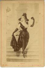 Sapho  Vintage albumen Print  Tirage albuminé  11x16  Circa 1880