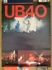 UB40 Original Vintage 1981 SKA REGGAE Music Poster SIGNED by Astro