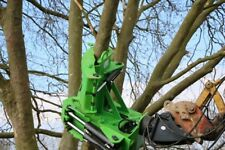 16 inch cut RSL tree shear with grab and 360 rotator fit 13t+ excavators INC VAT