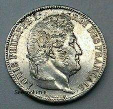 5 Francs 1831 K Louis Philippe I tête Laurée Tranche En Creux RARE et QUALITÉ