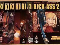 KICK-ASS 2 #1-7 Full Set Icon comic books Mark Millar NICE