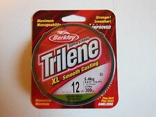 Berkley Trilene Xl Smooth Casting Low Vis Green Fishing Line 12 lb Test 300 Yds