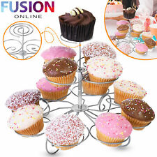 Cupcake Stand 3 Tier Muffin Cup Cake Holder Display Tower Wedding Birthday Party