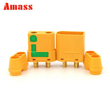 1 Pair AMASS XT90-S Male Female Connector Plug + housing for RC Lipo Battery