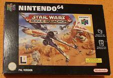 Nintendo 64 Spiel - Star Wars Rogue Squadron N64 (mit OVP)