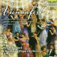 Cincinnati Pops Orchestra and Erich Kunzel - Viennafest [CD]