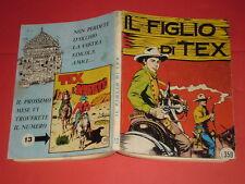 TEX GIGANTE LIRE 350 COPERTINA N°12 -A- DEL 1964-NO SPILLATO-il figlio di tex