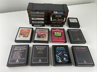 Lot of 17 Atari 2600 & 7800 Video Game Cartridges