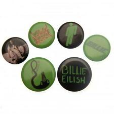 Billie Eilish Button Badge Set Official Merchandise