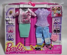 NEW-2015-BARBIE-COTTON CANDY CRUSH 2 PACK FASHION-SNAKE SKIN PRINT-FASHIONISTAS!