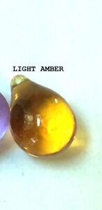 LOT OF 5~NEW GLASS GRAPE TEAR DROP SUNCATCHER 26mm Chandelier Prism 6 colors