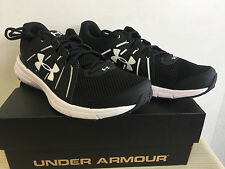 Under Armour 1285671 Men's UA Dash Run 2 Black Running Shoes 12 US 11 UK 46 EU