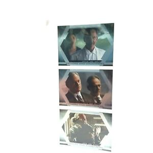 ALIAS Season 4 Fathers and Daughters Inkworks 3 x Premium Foil Collector Cards