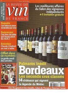 VIN DE FRANCE N°516 ASTUCES POUR REVENDRE SES VINS / BORDEAUX / VINS DE TABLE