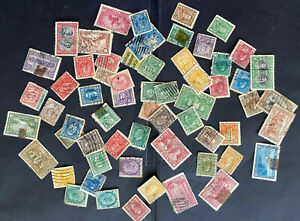 CANADA 1890-1930 Lot of over 60 stamps used/some hinged/some unused unsearched