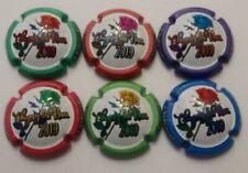 PLAQUES DE MUSELETS CHAMPAGNE  CHIGNY LES ROSES 6 CAPS