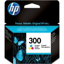 Original HP 300 Colour Ink Cartridge Deskjet F4280 F4580 F4583 CC643EE Genuine